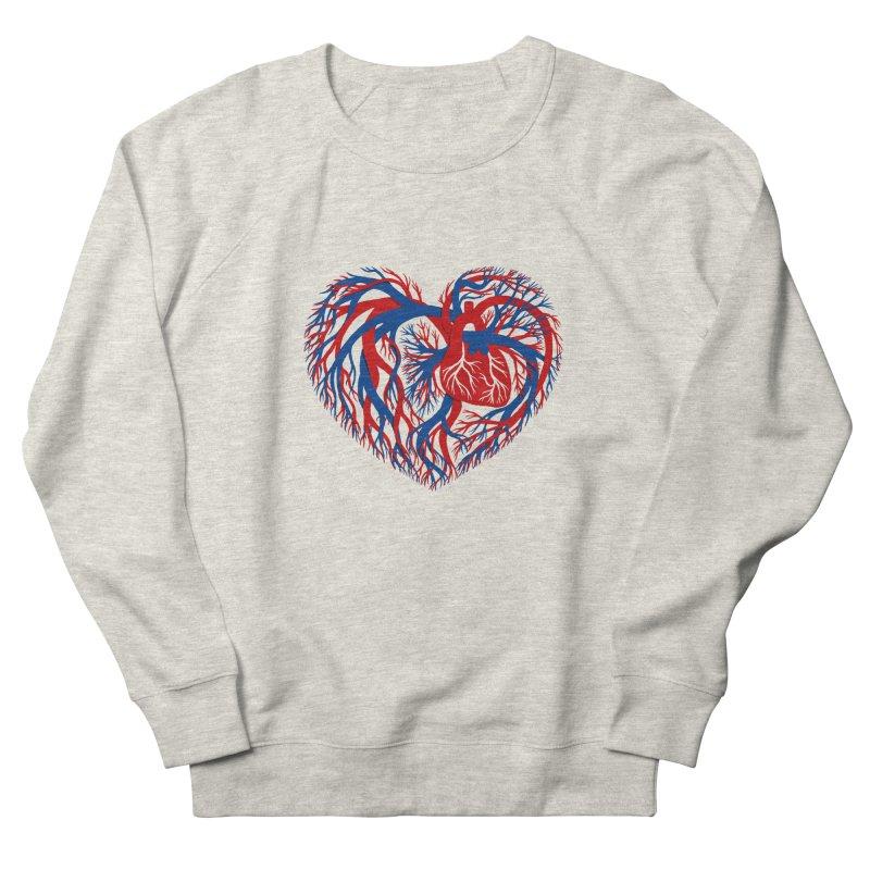 All Heart Men's Sweatshirt by vonbrandis's Artist Shop