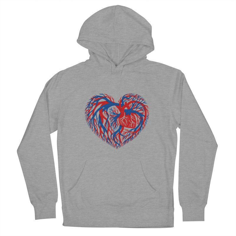 All Heart Women's Pullover Hoody by vonbrandis's Artist Shop