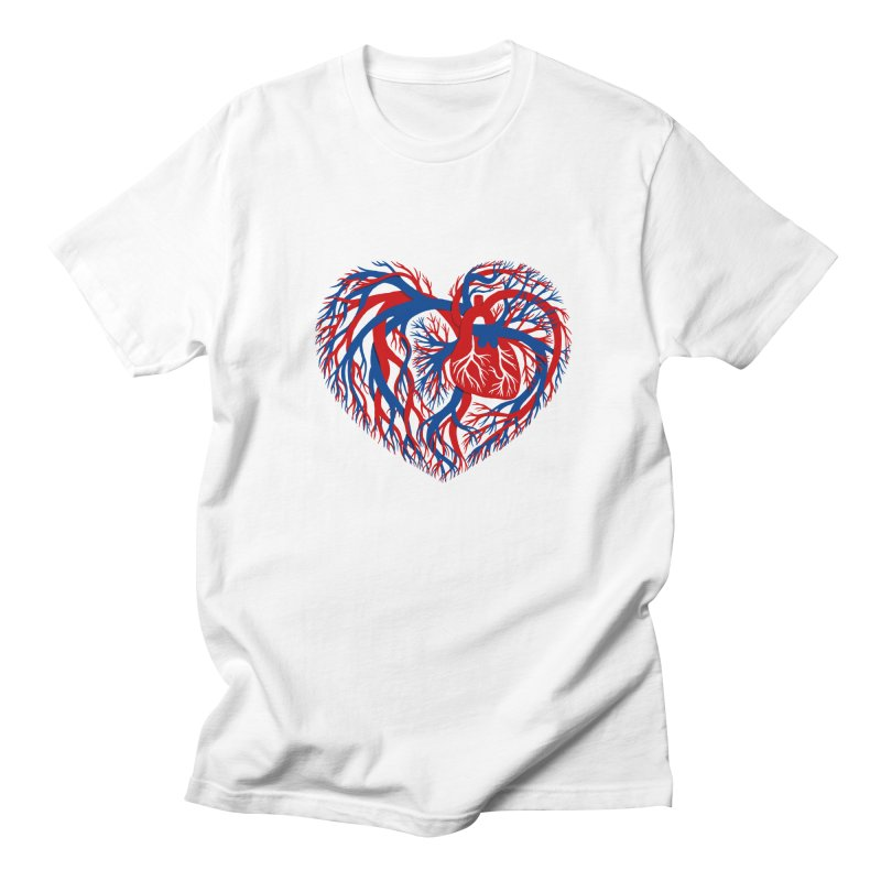 All Heart Women's Regular Unisex T-Shirt by vonbrandis's Artist Shop