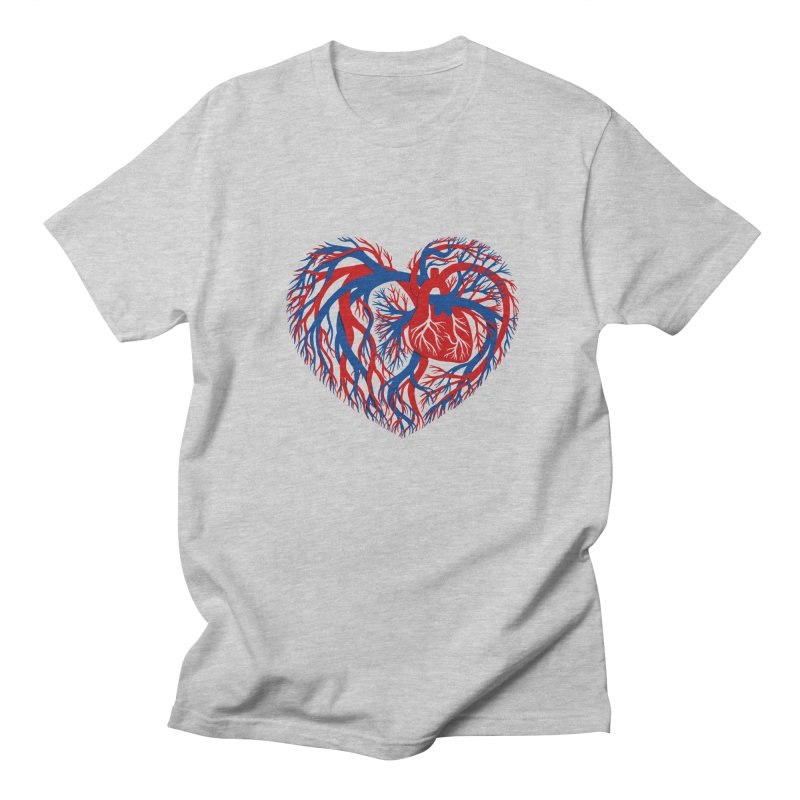 All Heart Men's Regular T-Shirt by vonbrandis's Artist Shop