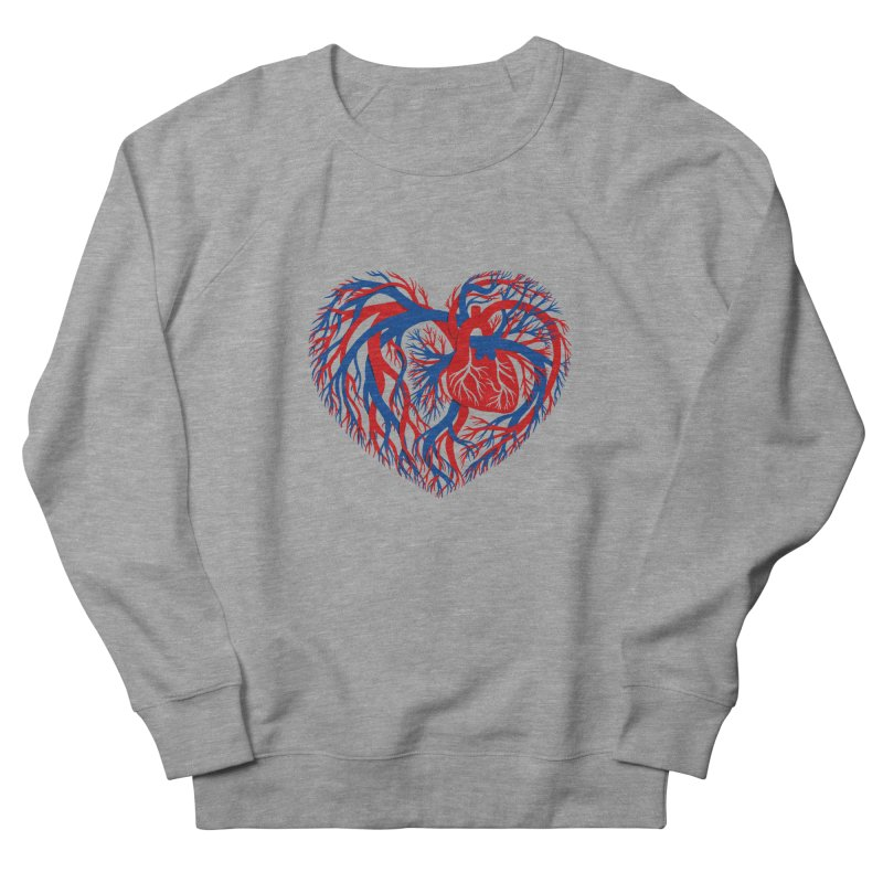 All Heart Men's Sweatshirt by vonbrandis's Artist Shop