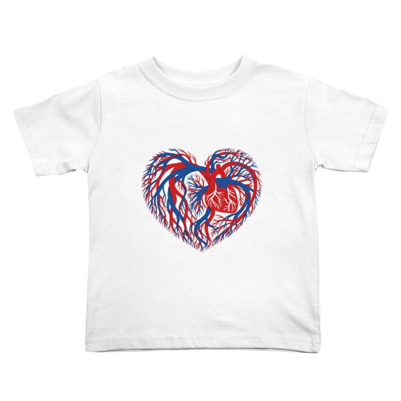All Heart Kids Toddler T-Shirt by vonbrandis's Artist Shop