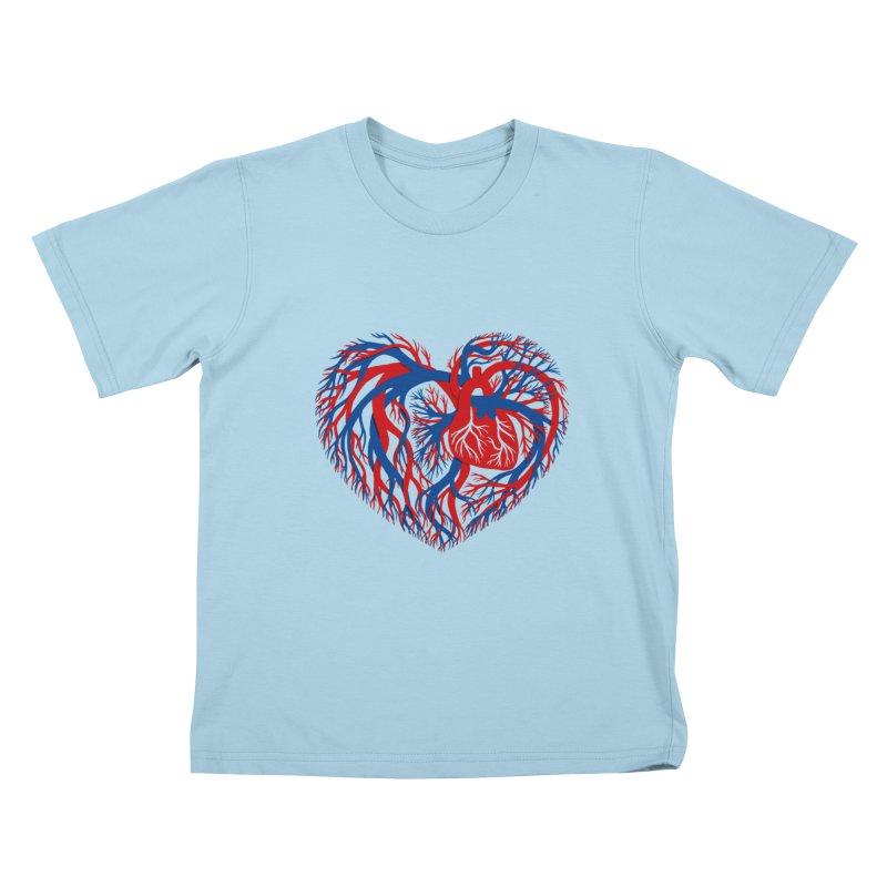 All Heart Kids T-Shirt by vonbrandis's Artist Shop