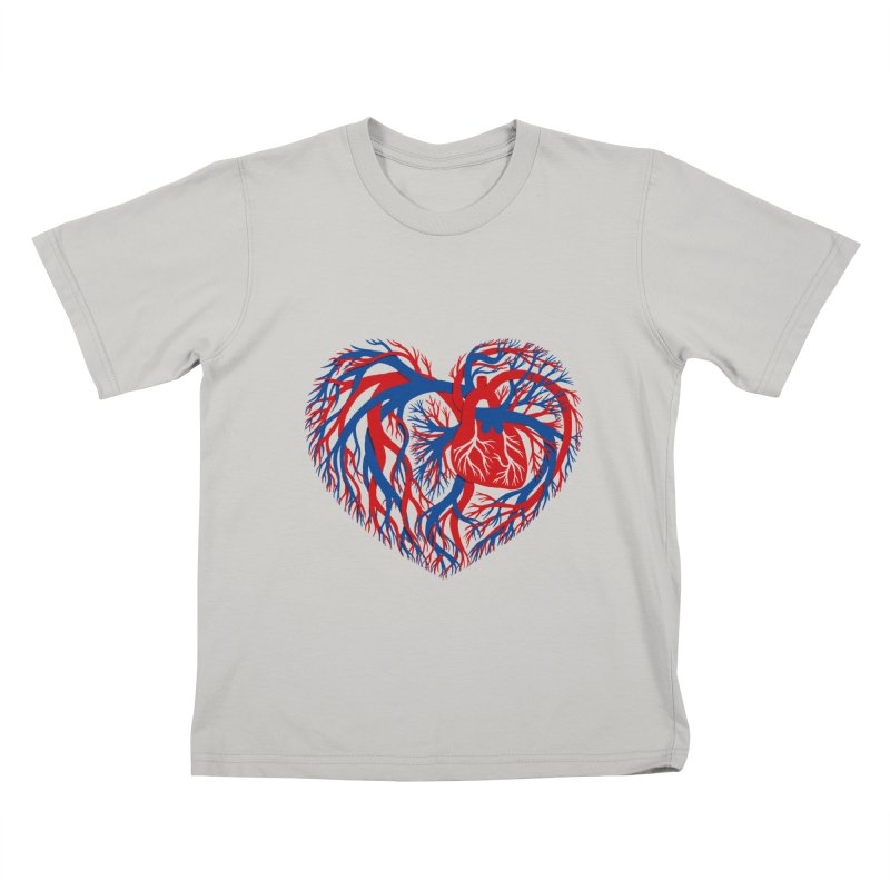 All Heart Kids T-shirt by vonbrandis's Artist Shop