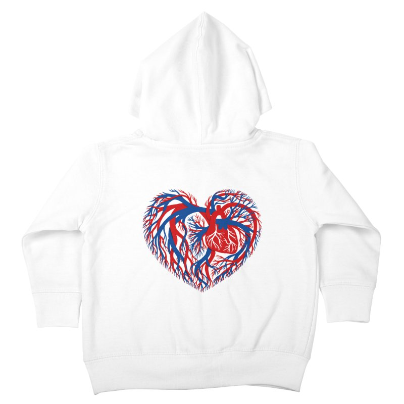 All Heart Kids Toddler Zip-Up Hoody by vonbrandis's Artist Shop