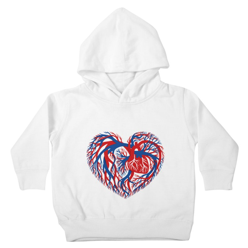All Heart Kids Toddler Pullover Hoody by vonbrandis's Artist Shop