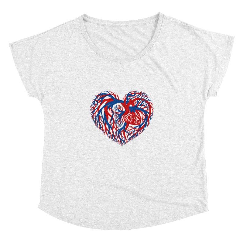 All Heart Women's Dolman by vonbrandis's Artist Shop