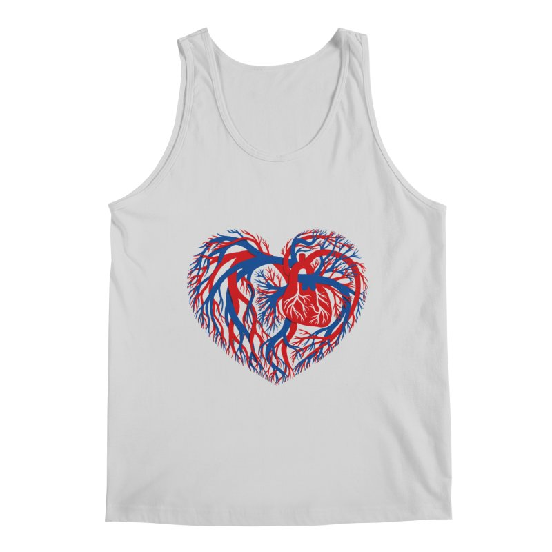 All Heart Men's Tank by vonbrandis's Artist Shop