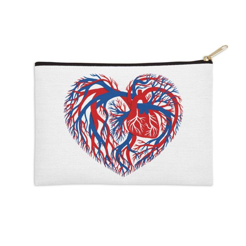 All Heart Accessories Zip Pouch by vonbrandis's Artist Shop