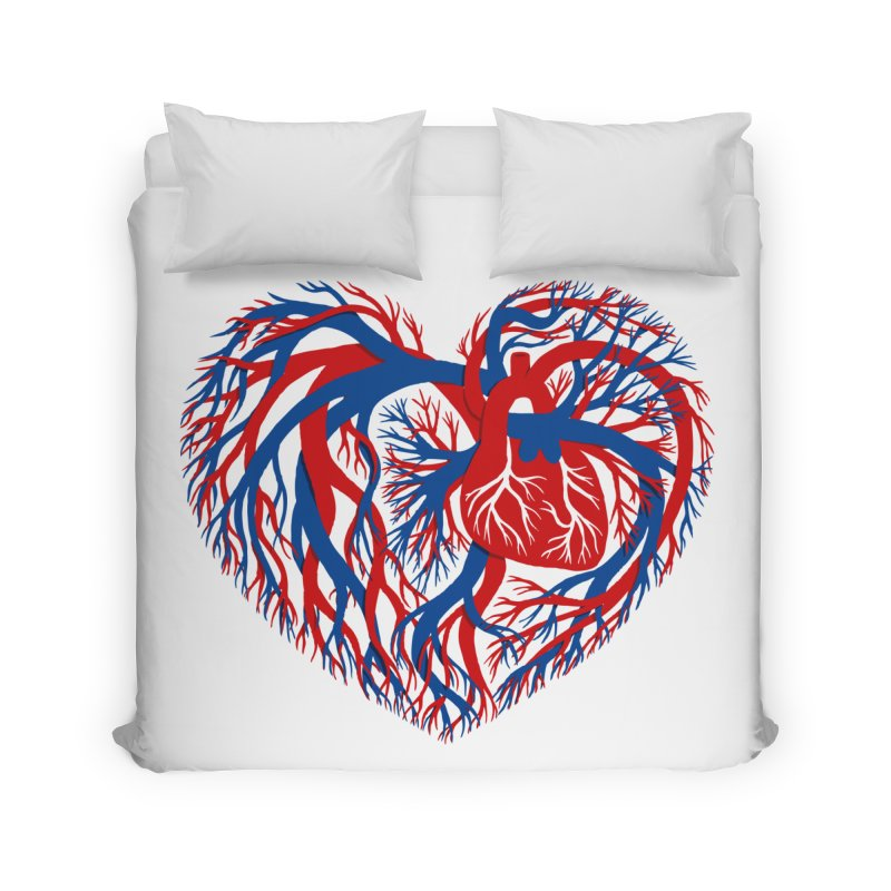 All Heart Home Duvet by vonbrandis's Artist Shop