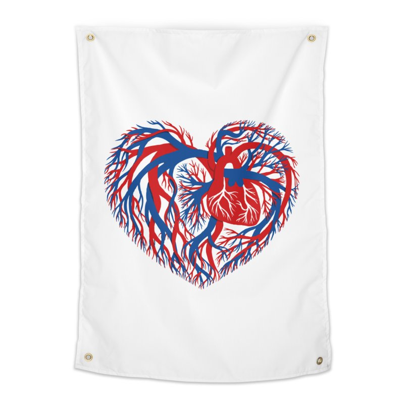 All Heart Home Tapestry by vonbrandis's Artist Shop