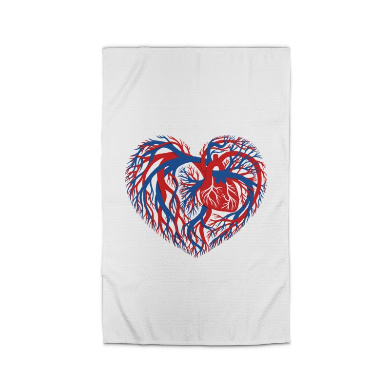 All Heart Home Rug by vonbrandis's Artist Shop