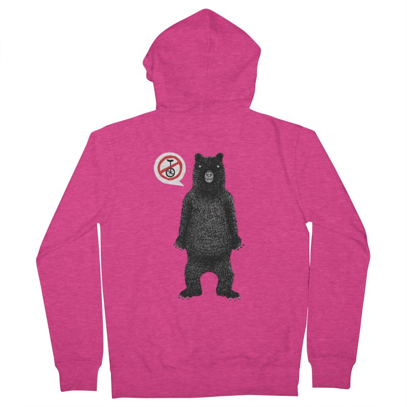 This Ain't No Circus! Women's French Terry Zip-Up Hoody by vonbrandis's Artist Shop