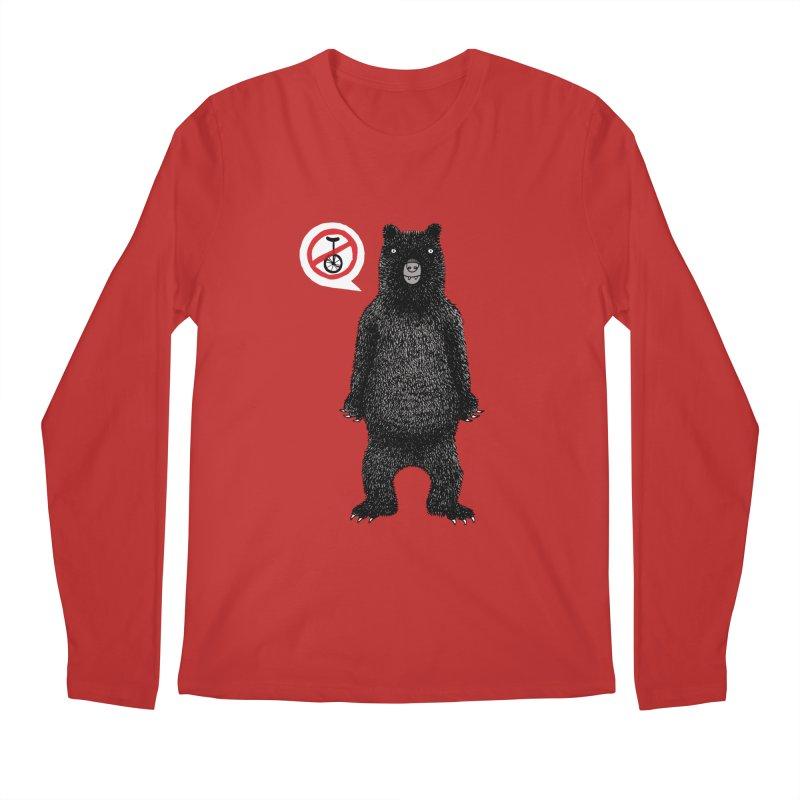 This Ain't No Circus! Men's Regular Longsleeve T-Shirt by vonbrandis's Artist Shop
