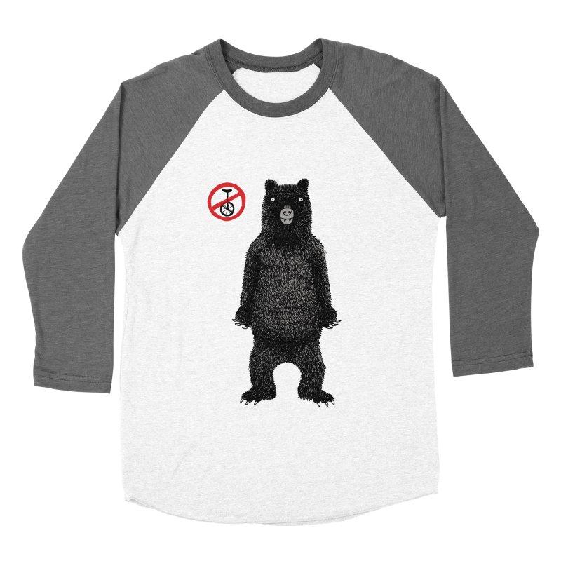 This Ain't No Circus! Men's Baseball Triblend Longsleeve T-Shirt by vonbrandis's Artist Shop