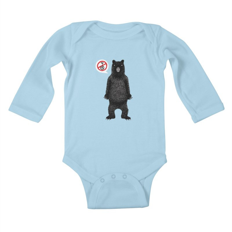 This Ain't No Circus! Kids Baby Longsleeve Bodysuit by vonbrandis's Artist Shop