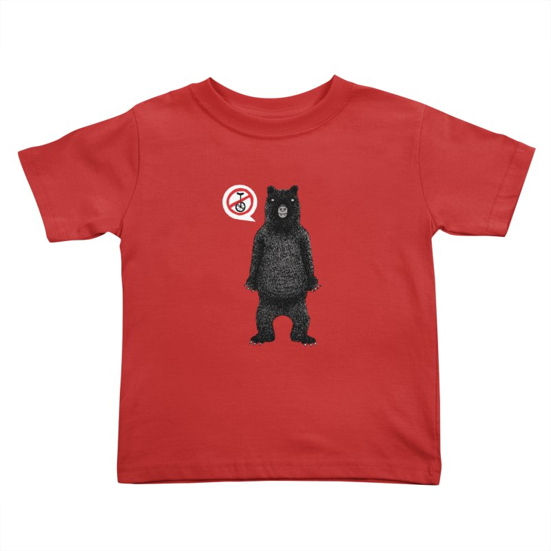 This Ain't No Circus! Kids Toddler T-Shirt by vonbrandis's Artist Shop
