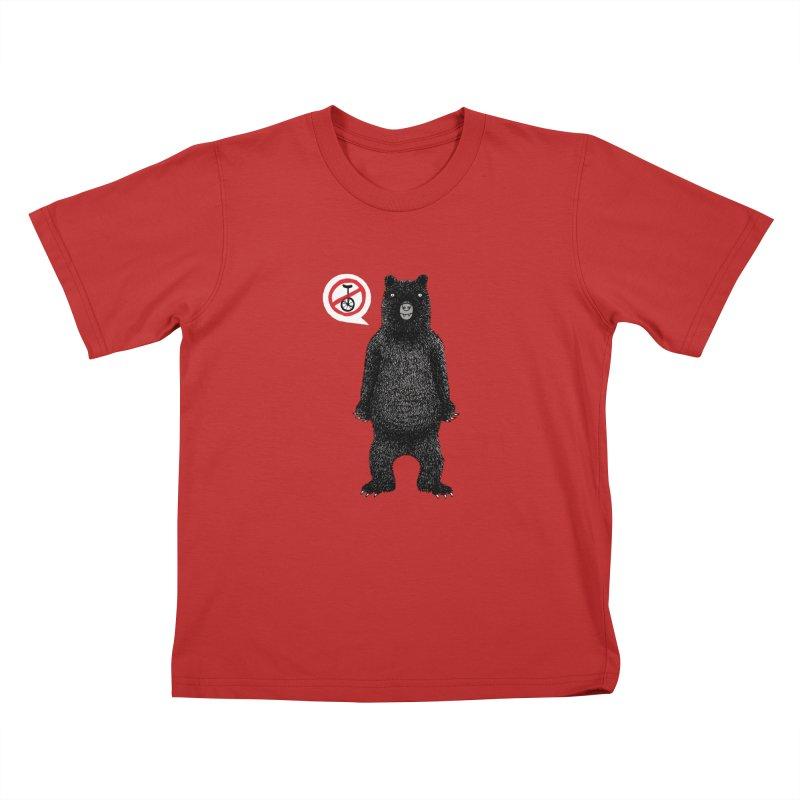This Ain't No Circus! Kids T-Shirt by vonbrandis's Artist Shop