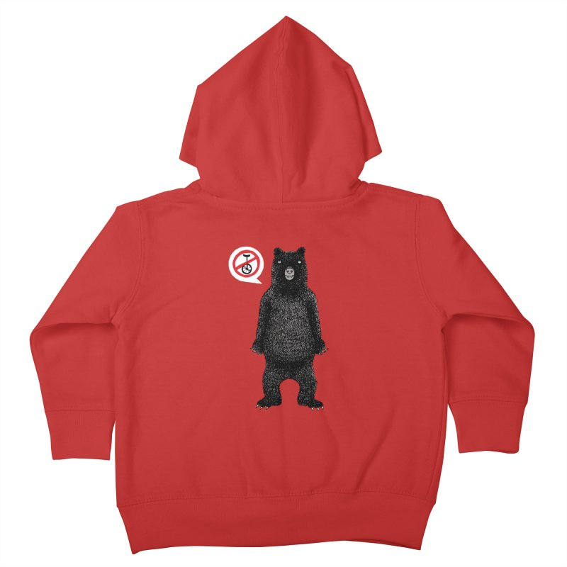 This Ain't No Circus! Kids Toddler Zip-Up Hoody by vonbrandis's Artist Shop