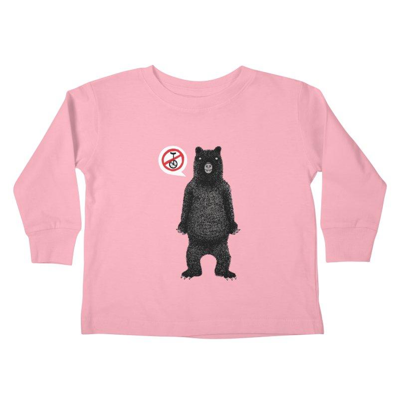 This Ain't No Circus! Kids Toddler Longsleeve T-Shirt by vonbrandis's Artist Shop