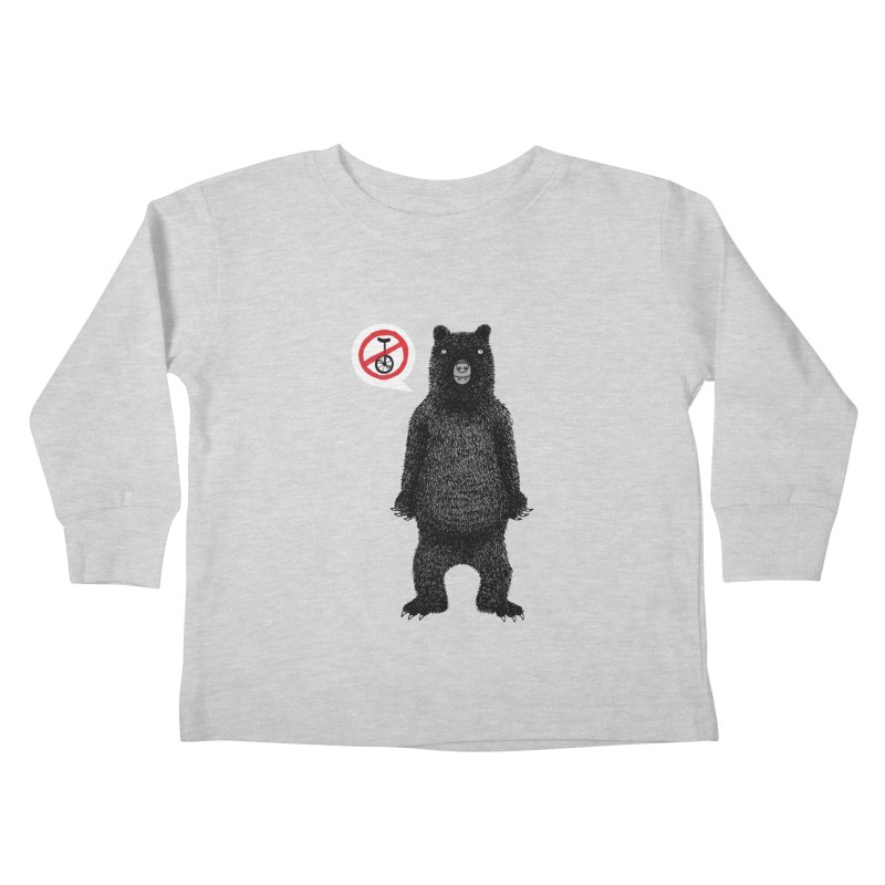This Ain't No Circus! Kids Toddler Longsleeve T-Shirt by vonbrandis's Artist Shop