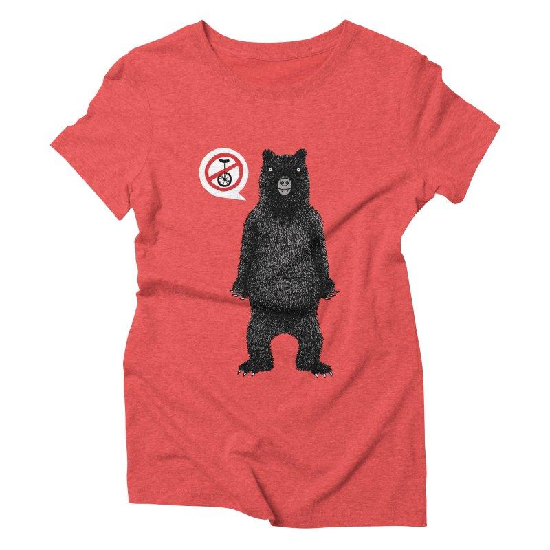 This Ain't No Circus! Women's Triblend T-Shirt by vonbrandis's Artist Shop