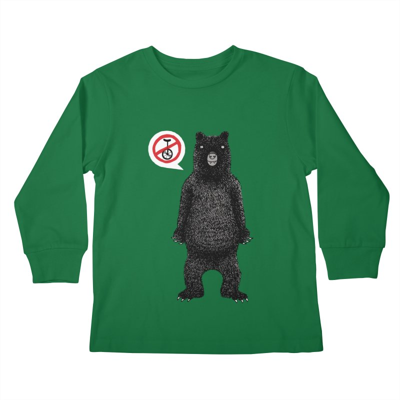 This Ain't No Circus! Kids Longsleeve T-Shirt by vonbrandis's Artist Shop