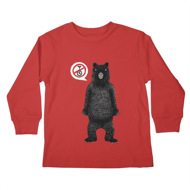 This Ain't No Circus! Kids Longsleeve T-Shirt by vonbrandis's Artist Shop
