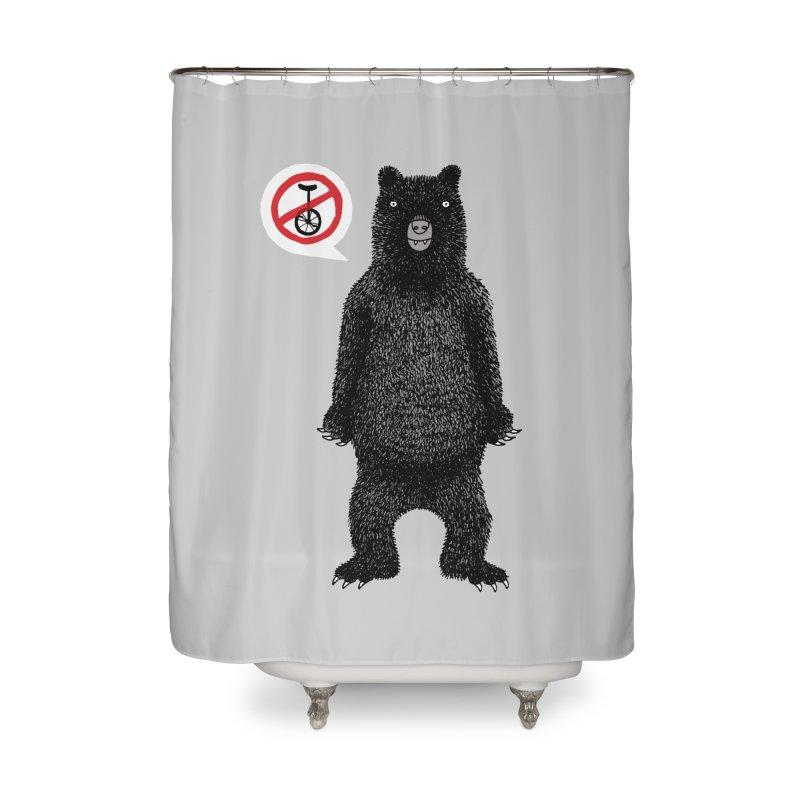 This Ain't No Circus! Home Shower Curtain by vonbrandis's Artist Shop