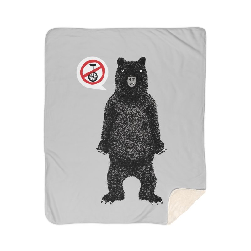This Ain't No Circus! Home Sherpa Blanket Blanket by vonbrandis's Artist Shop
