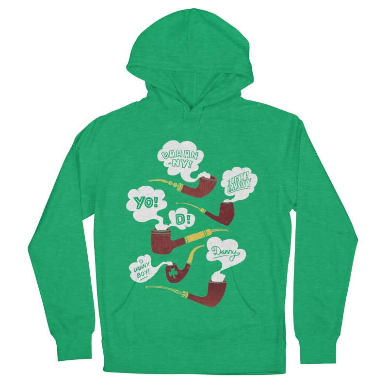 Danny Boy Women's French Terry Pullover Hoody by vonbrandis's Artist Shop