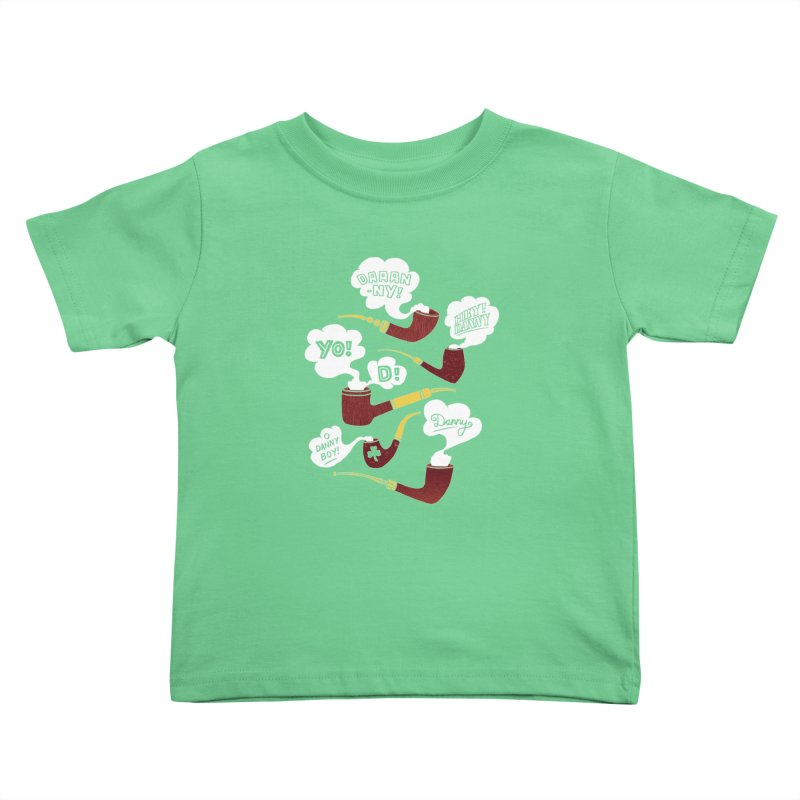 Danny Boy Kids Toddler T-Shirt by vonbrandis's Artist Shop