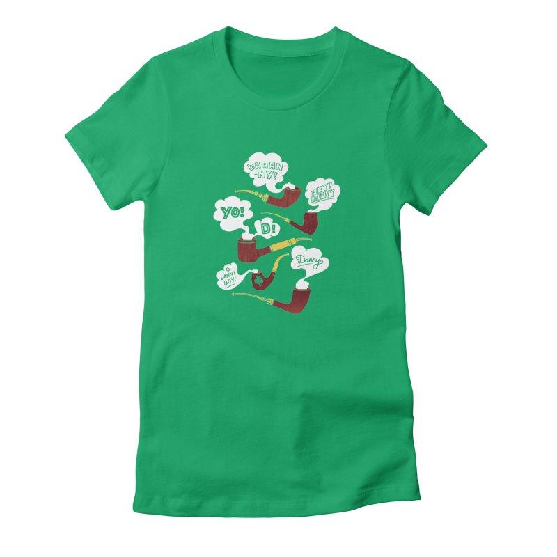 Danny Boy Women's T-Shirt by vonbrandis's Artist Shop
