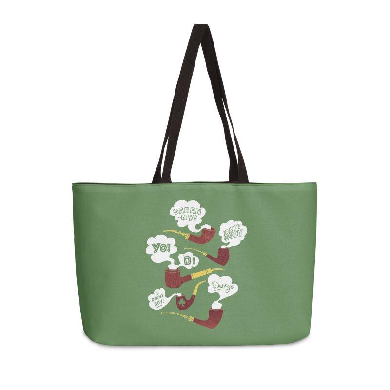 Danny Boy Accessories Weekender Bag Bag by vonbrandis's Artist Shop