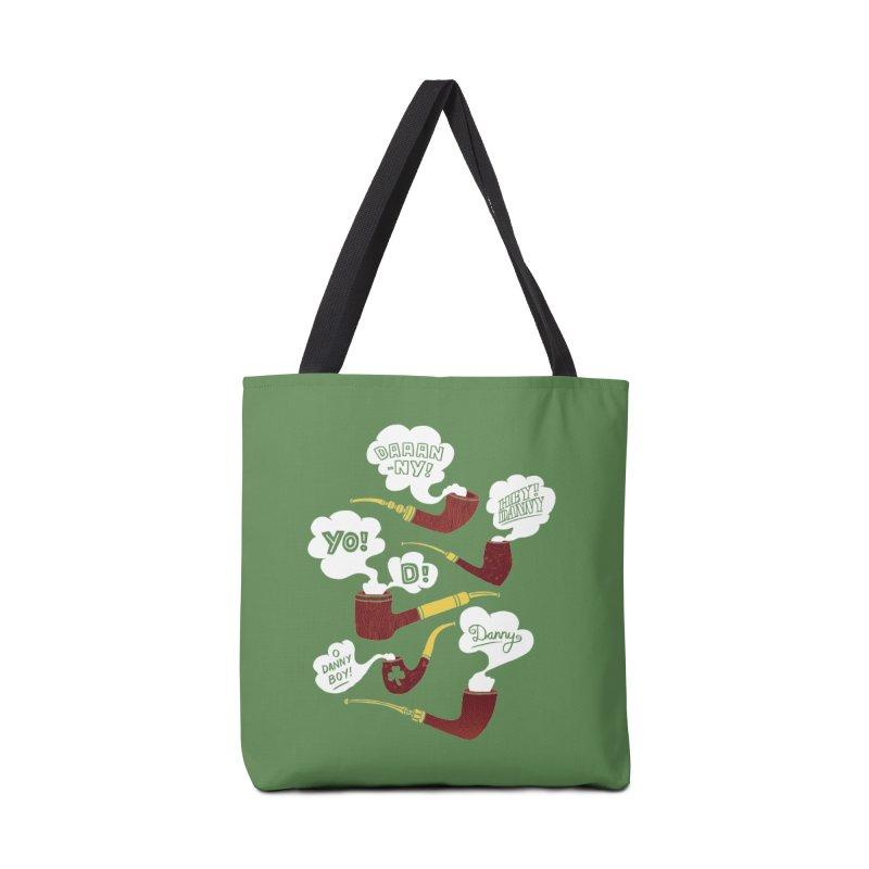Danny Boy Accessories Bag by vonbrandis's Artist Shop