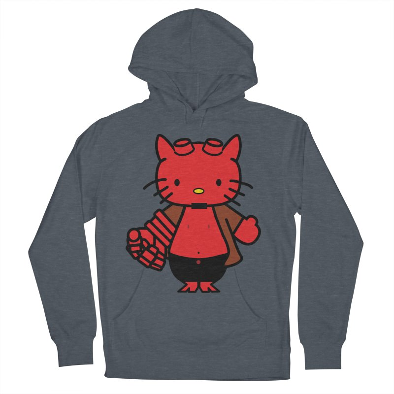 HELL KITTY Men's Pullover Hoody by Von Grey's Artist Shop