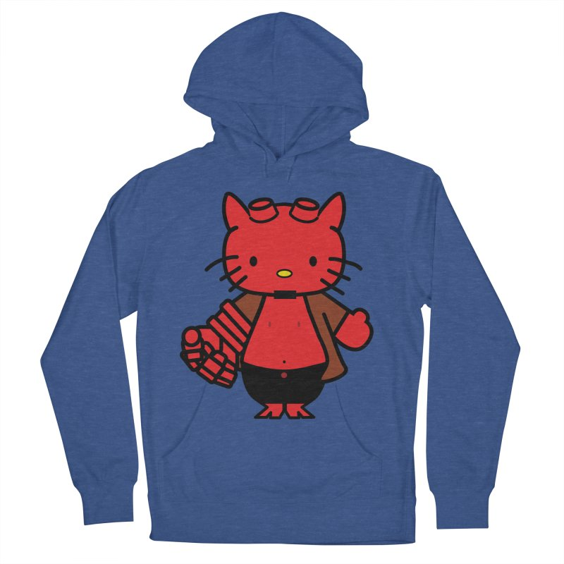 HELL KITTY Men's Pullover Hoody by Von Grey's Artist Shop