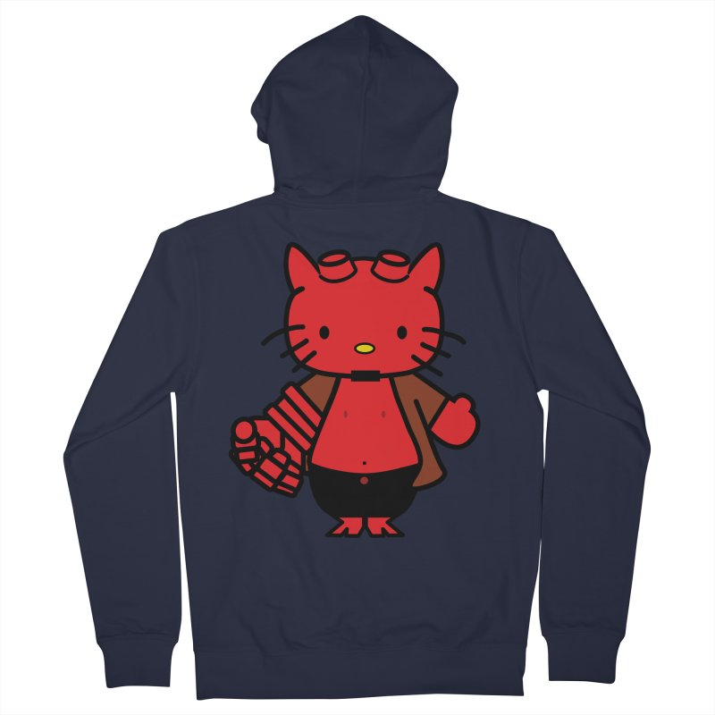HELL KITTY Women's Zip-Up Hoody by Von Grey's Artist Shop
