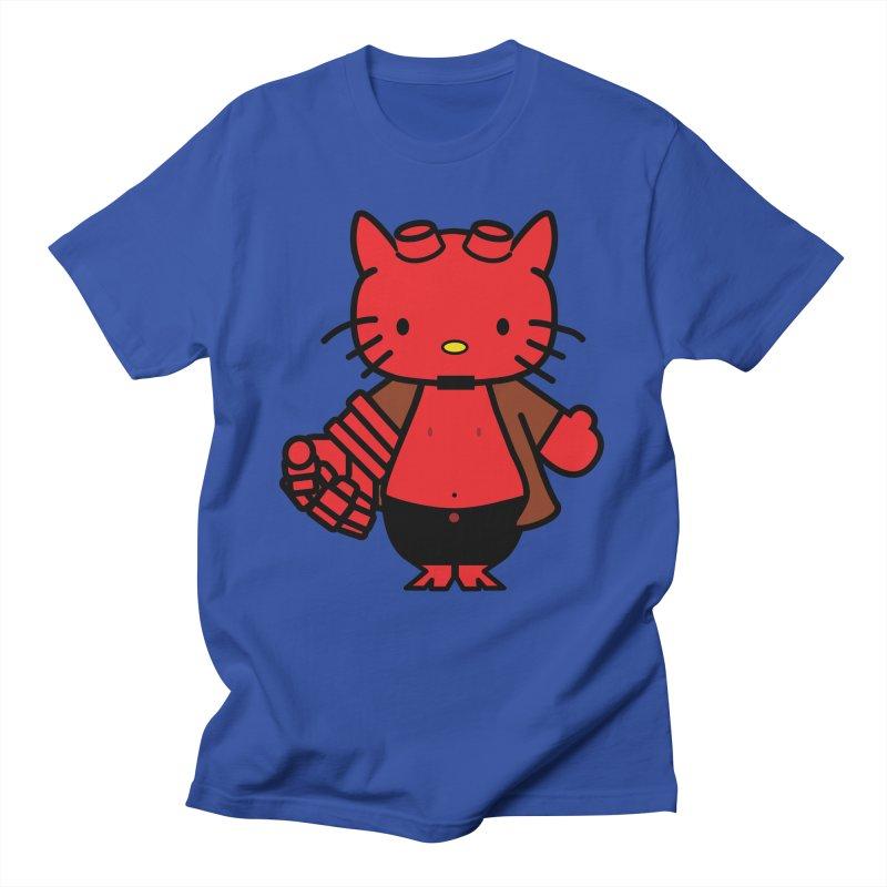 HELL KITTY Men's T-Shirt by Von Grey's Artist Shop