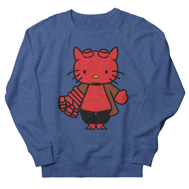 HELL KITTY Women's Sweatshirt by Von Grey's Artist Shop
