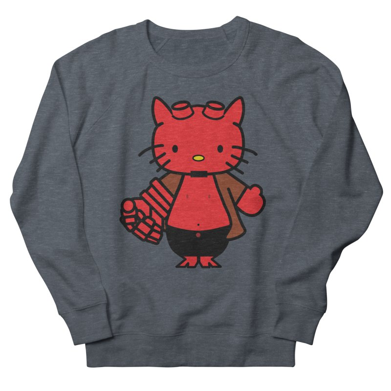 HELL KITTY Men's Sweatshirt by Von Grey's Artist Shop