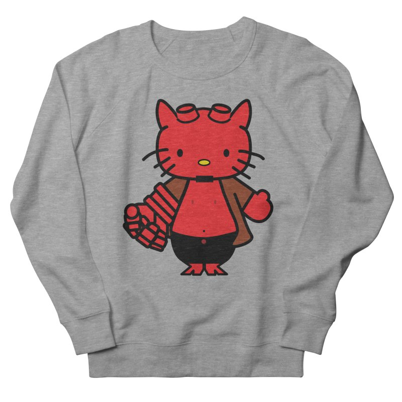HELL KITTY Men's Sweatshirt by Von Grey's Artist Shop