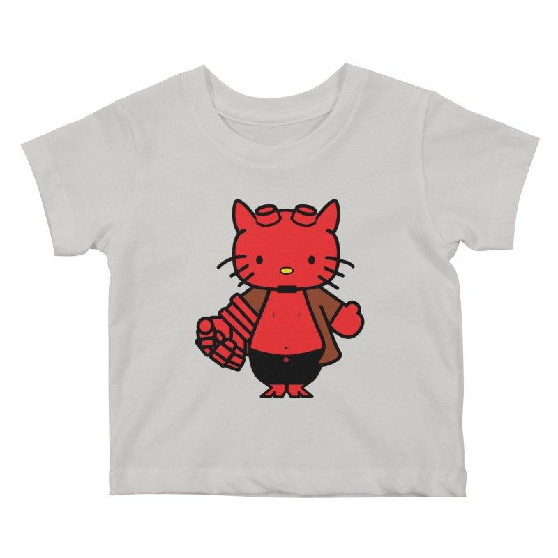 HELL KITTY Kids Baby T-Shirt by Von Grey's Artist Shop