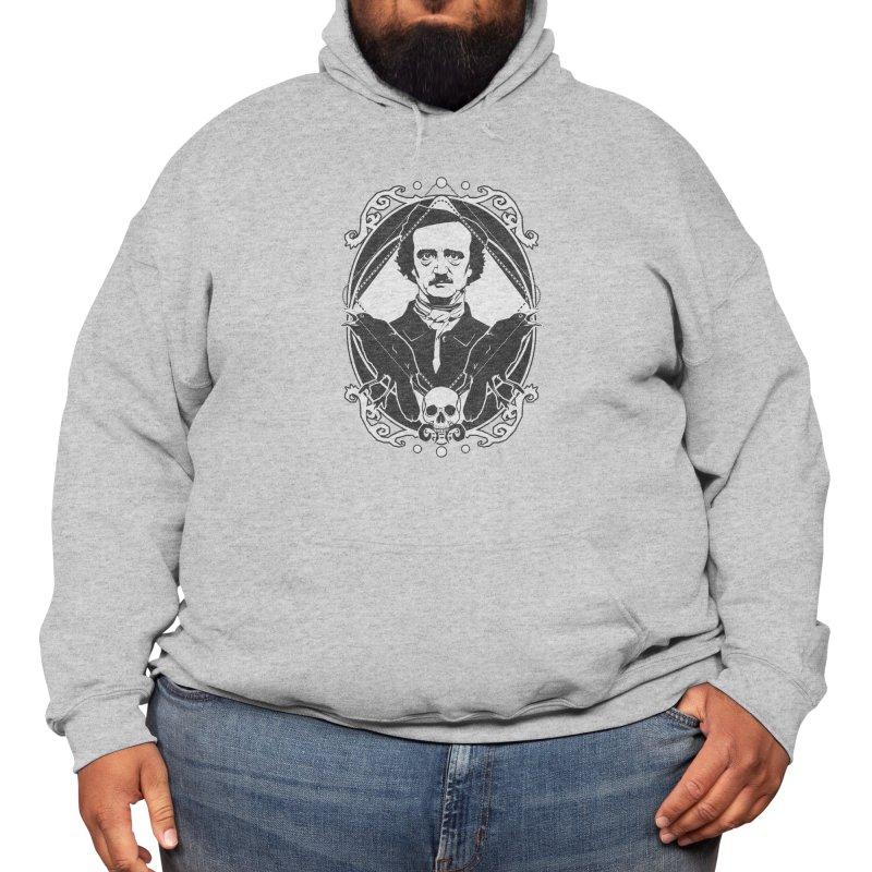 Edgar Allan Poe - the king of macabre Men's Pullover Hoody by von Kowen's Shop