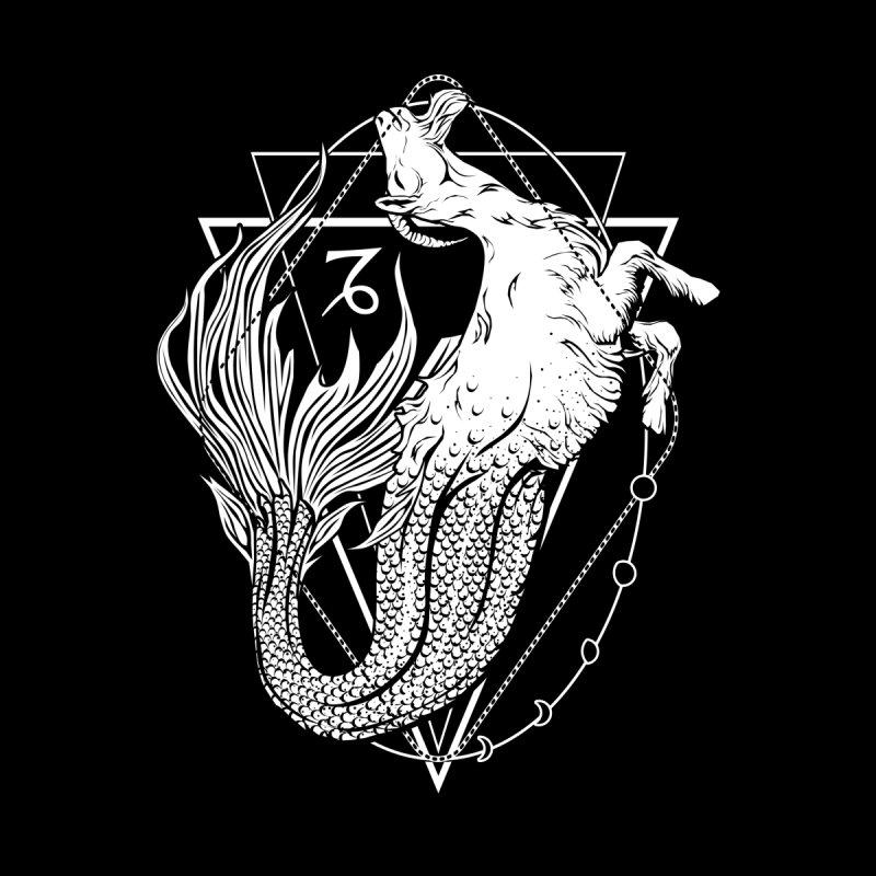 Mermaid goat / Capricorn by von Kowen's Shop