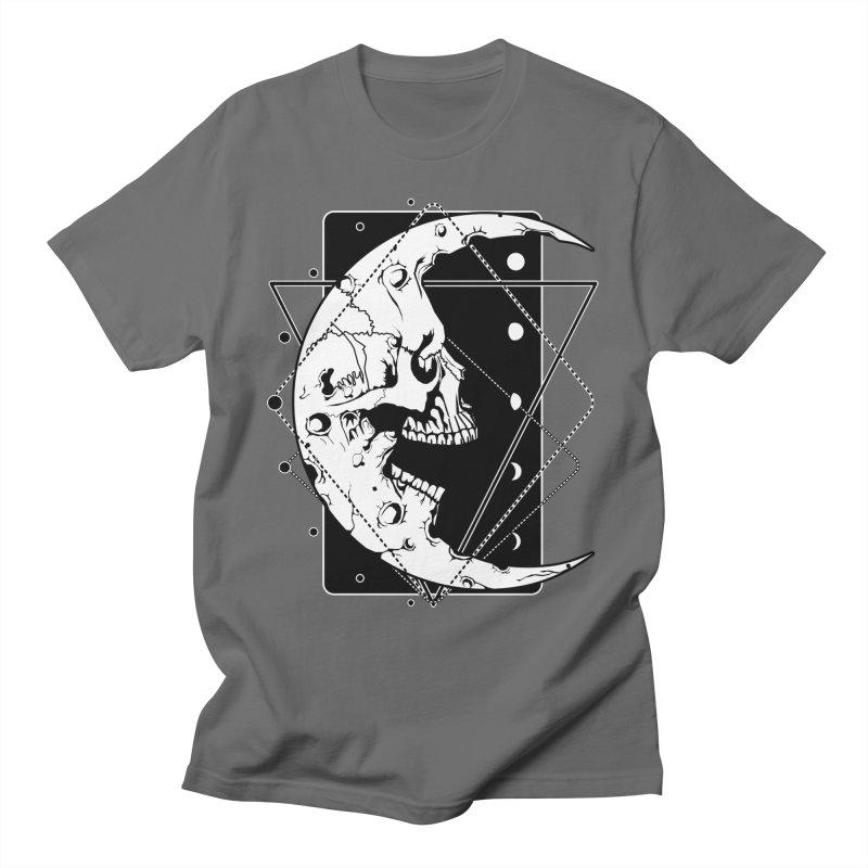 MoonSkull Men's T-Shirt by von Kowen's Shop