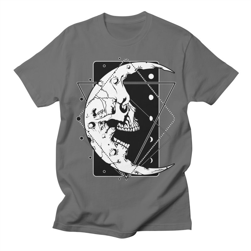 MoonSkull Men's T-Shirt by von Kowen's Shop