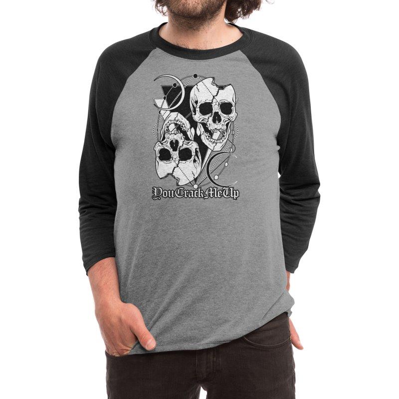 You Crack Me Up Men's Longsleeve T-Shirt by von Kowen's Shop