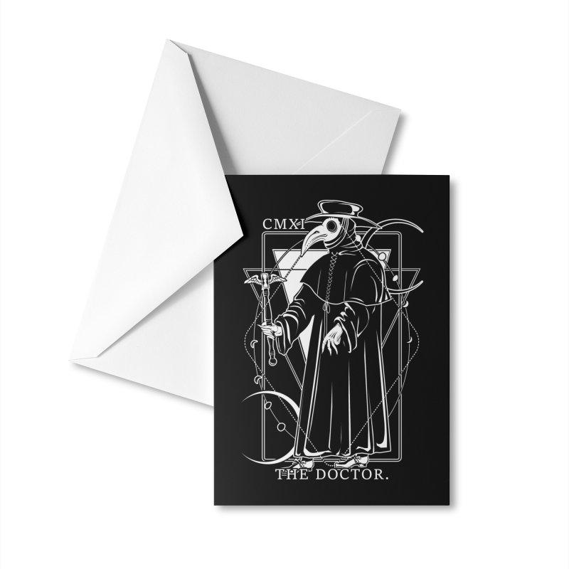 The Doctor Accessories Greeting Card by von Kowen's Shop