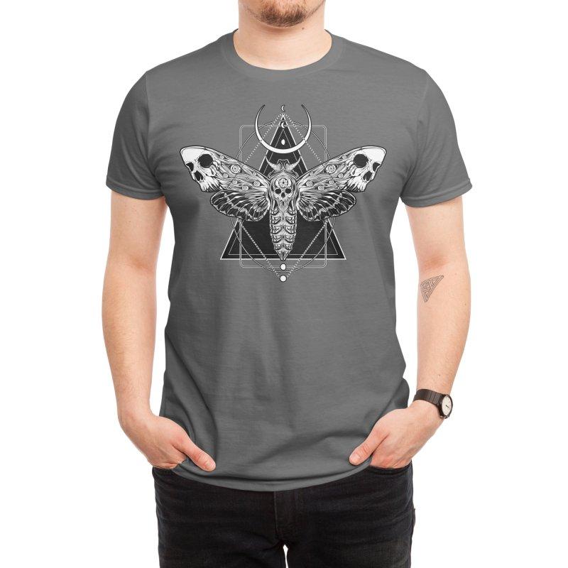 Surreal Death Moth Men's T-Shirt by von Kowen's Shop
